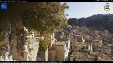Náhledový obrázek webkamery Cervara di Roma