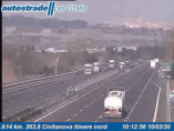 Náhledový obrázek webkamery Civitanova Marche - A14 - KM 263,8