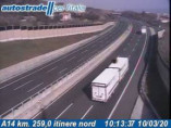 Náhledový obrázek webkamery Civitanova Marche - A14 - KM 259,0