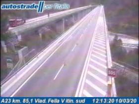 Náhledový obrázek webkamery Dogna - A23 - KM 85,1