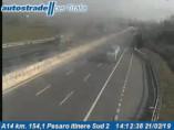 Náhledový obrázek webkamery Pesaro - A14 - KM 155,0