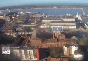 Náhledový obrázek webkamery Klaipeda - přístav