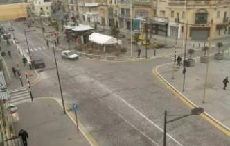 Náhledový obrázek webkamery Paola - náměstí Antoine de Paule
