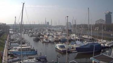 Náhledový obrázek webkamery Amsterdam - přístav