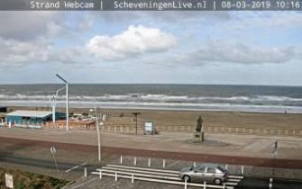 Náhledový obrázek webkamery Scheveningen - pláž