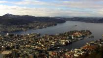 Náhledový obrázek webkamery Bergen - Fløyen