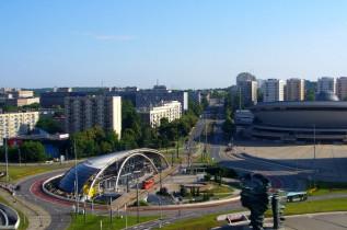 Náhledový obrázek webkamery Katowice