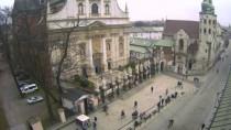 Náhledový obrázek webkamery Krakow - Hotel Senacki