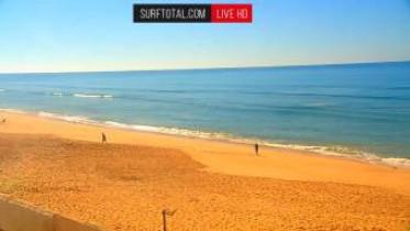 Náhledový obrázek webkamery Faro - pláž