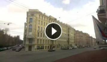 Náhledový obrázek webkamery Petrohrad