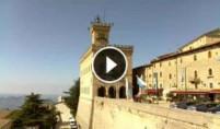 Náhledový obrázek webkamery San Marino - Piazza Libertà and Palazzo Pubblico
