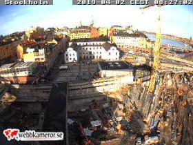 Náhledový obrázek webkamery Stockholm