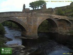 Náhledový obrázek webkamery Barnard Castle - River Tees