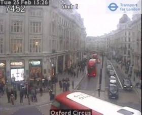 Náhledový obrázek webkamery Londýn - Oxford Circus