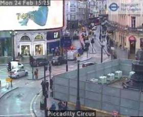 Náhledový obrázek webkamery Londýn - Piccadilly Circus
