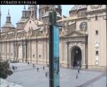 Náhledový obrázek webkamery Zaragoza - Plaza del Pilar