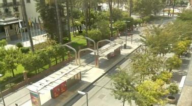 Náhledový obrázek webkamery Sevilla - Puerta de Jerèz