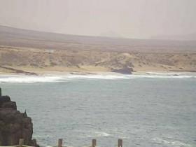 Náhledový obrázek webkamery El Cotillo - pláž Piedra