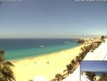 Náhledový obrázek webkamery Morro Jable - pláž Jandia