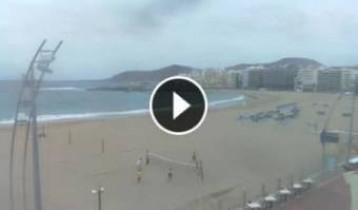 Náhledový obrázek webkamery Las Palmas - pláž Grande