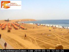 Náhledový obrázek webkamery Maspalomas - pláž
