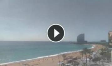 Náhledový obrázek webkamery Barcelona - Barceloneta