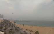 Náhledový obrázek webkamery Barcelona - Sant Sebastià pláž