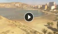 Náhledový obrázek webkamery Alicante - pláž de la Almadraba