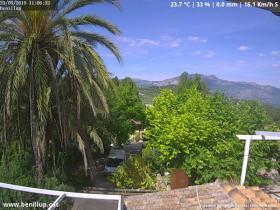 Náhledový obrázek webkamery Benillup - Serra de Mariola