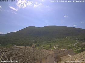Náhledový obrázek webkamery Benillup - Serra d'Almudaina