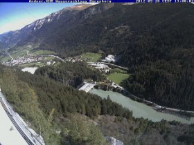 Náhledový obrázek webkamery Andeer - Wasserschloss Bärenburg