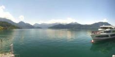 Náhledový obrázek webkamery Weggis - jezero Lucerne