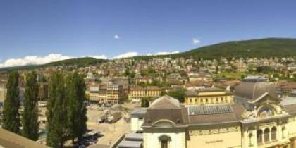 Náhledový obrázek webkamery Neuchâtel - Jeunes-Rives