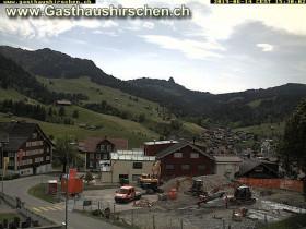 Náhledový obrázek webkamery Oberiberg - horská chata Hirschen