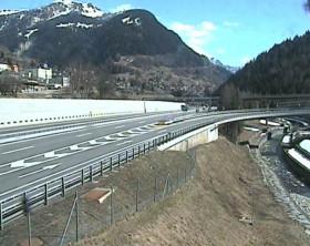 Náhledový obrázek webkamery Airolo - the Gotthard-Tunnel