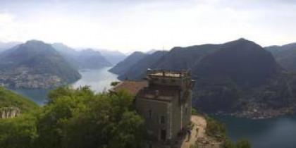 Náhledový obrázek webkamery Lugano - San Salvatore