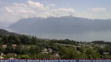 Náhledový obrázek webkamery Belmont-sur-Lausanne