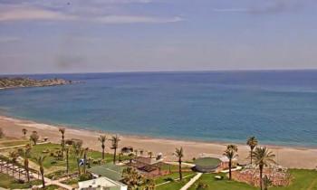 Náhledový obrázek webkamery Rhodos Palladium Beach Live