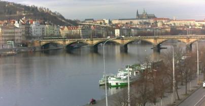 Náhledový obrázek webkamery Pražský hrad