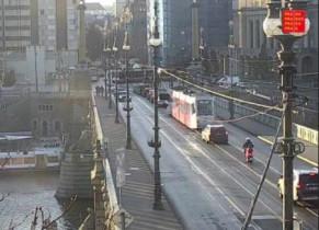 Náhledový obrázek webkamery Praha - Čechův most