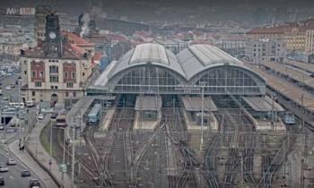 Náhledový obrázek webkamery Praha - hlavní nádraží