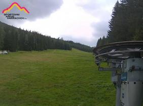 Náhledový obrázek webkamery Harrachov - ski areál - červená sjezdovka