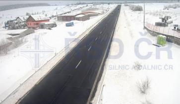 Náhledový obrázek webkamery Boží Dar - Obchvat