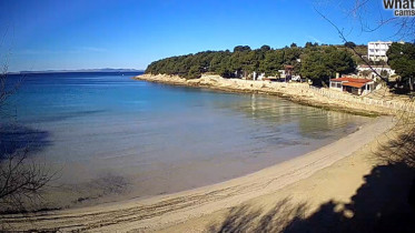 Náhledový obrázek webkamery Murter - pláž