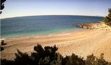 Náhledový obrázek webkamery Pláž Ivan Dolač - Hvar