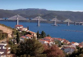 Náhledový obrázek webkamery Most na Pelješac