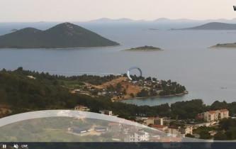 Náhledový obrázek webkamery Pakoštane - panorama