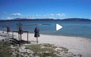 Náhledový obrázek webkamery Biograd na Moru - Vransko jezero