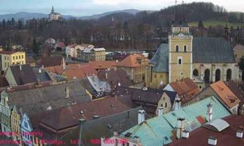 Náhledový obrázek webkamery Frýdlant v Čechách