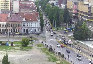Náhledový obrázek webkamery Košíce - Štúrova-Južná Trieda